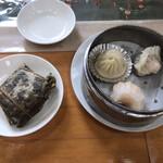 広東名菜 翡翠軒 - 飲茶の点心とちまき