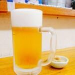 男の厨房 - 生ビール