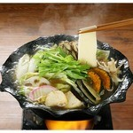 ばんどう太郎 - 野菜いっぱい平打ち麺【1180円(税込1239円)】