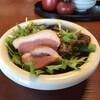 歳一六 - 料理写真:鴨肉と水菜サラダ