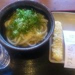 讃岐製麺  - 料理写真:かけといか天で380円