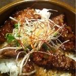 15878320 - カルビステーキ丼