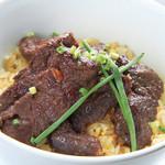 朝もぎ野菜Dining彩り家 - 蝦夷鹿肉の焼飯