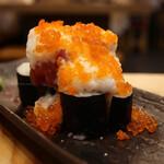 天ぷらと海鮮 ニューツルマツ - ツルマツ雪崩巻き(880円)