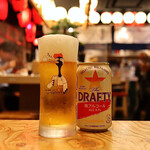 天ぷらと海鮮 ニューツルマツ - 微アルコールビール