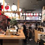 天ぷらと海鮮 ニューツルマツ - 店内