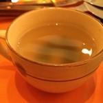お好み焼だるま - スープ