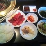15879797 - Aランチ 牛カルビ定食¥900