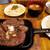 葡麗紅 - 料理写真:会長ステーキの400gを注文。