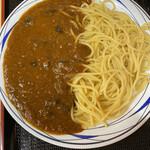 丹波大食堂 - 料理写真:キーマ黒豆カレーパスタ 680円