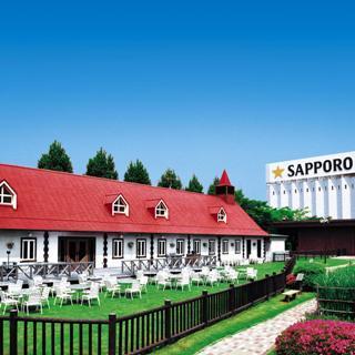 ドイツの民家をイメージした仙台ビール園!