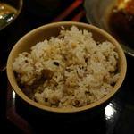ろばたの炉 - 五穀米