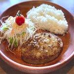 びっくりドンキー - 料理写真:レギュラーバーグディッシュ(150g)¥760 2021.9.20