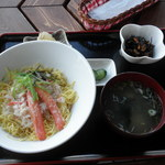 アッカリーオ - 蟹チラシセット1000円