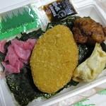 惣菜弁当 - 料理写真:のり弁当(大盛) 250円