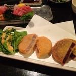 15882397 - 田芋と紅芋のコロッケ