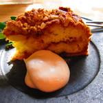 アンティグア - リンゴと胡桃のケーキ