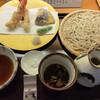 手打そば さかき - 料理写真:海老野菜天せいろ 1595円