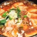 健民ダイニング - 土鍋仕立ての麻婆豆腐