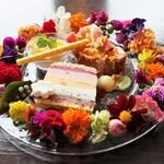 Cafe and Dining 桜moon - 「デザート盛り合わせ 桜moonスペシャル」