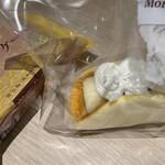 バナナケーキのモンテドール - 料理写真: