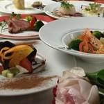 ラグーン - X'mas Dinner 2012 5500円 聖夜の為に特別にご用意したシェフ自慢のディナーコースです。