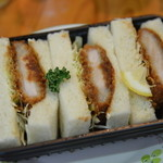 石釜パン工房 伊万里の香り - 料理写真:カツサンド