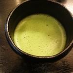 土井親方のこだわり料理 縁 - お抹茶