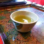 滝の家 - サービスの煎茶