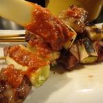15885947 - 2012年11月再訪・おもいおもいに味噌たれを