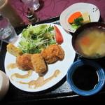 山麓キッチン - コロッケセット 1050円