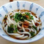 赤坂製麺所 - かけ1玉