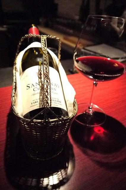 小久保 - 赤ワインの1杯目