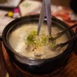 チョンソル - 料理写真:サムゲタン
