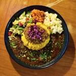 スパイスカレー青藍 - 料理写真:香りを食べるカレーライス