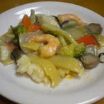 15888326 - 皿に盛った海鮮炒め