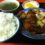 小笹飯店 - とりみそ定食