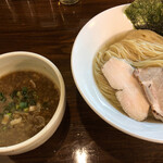 に干し屋 SINCHAN - 料理写真:魚豚つけ麺細麺!