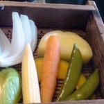 1589239 - 朝食 蒸し野菜