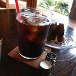 ガーデンカフェ 日日 - アイスコーヒー