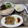 博多だるまJAPAN - 料理写真:餃子セット トッピングチャーシュー 紅生姜大盛