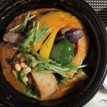 Rojiura Curry SAMURAI. - 豚角煮と野菜13品目のスープカレー