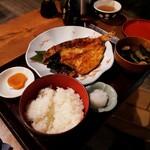 Kikumatsushokudou - のどぐろひらき定食