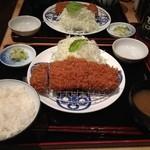 15893494 - ロースかつ膳(1,680円)
