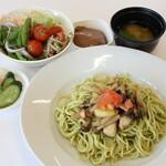 野菜レストラン ショウナン - 秋ジェノベーゼ(サラダバー、スープ、味噌汁、デザート食べ放題付)
