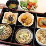 野菜レストラン ショウナン - 秋御膳(サラダバー、スープ、味噌汁、デザート食べ放題付)