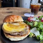 """158942401 - """"限定20食"""" 【9月のMonthly Burger】 『Geek Burger¥2890』"""