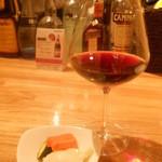 日本橋MITSU - 赤ワインとピクルス