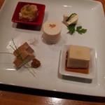 15895771 - 豆腐5珍盛り