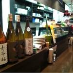立呑み厨房 いち - 2012.11.12 カウンター
